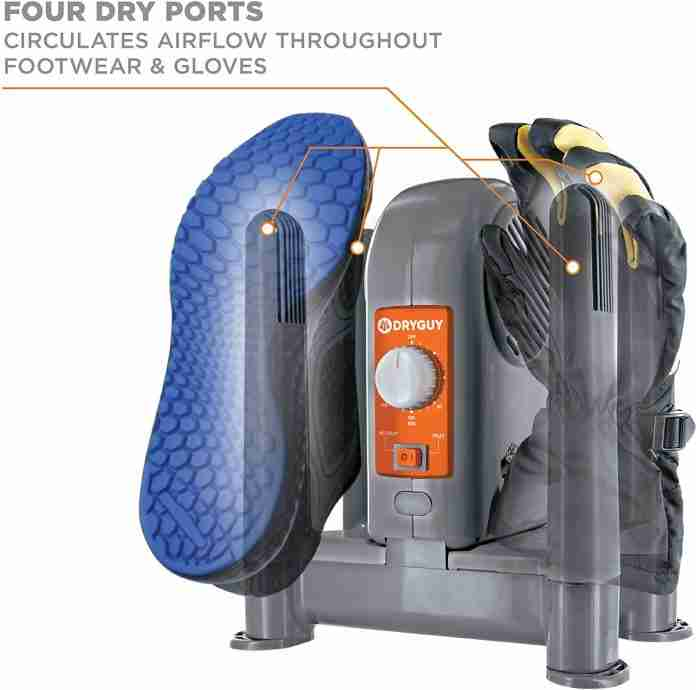 DryGuy DX Forced Air Boot Dryer – feature-packed